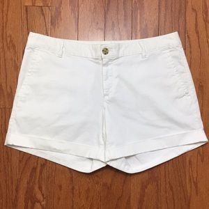 Banana Republic White City Chino Shorts